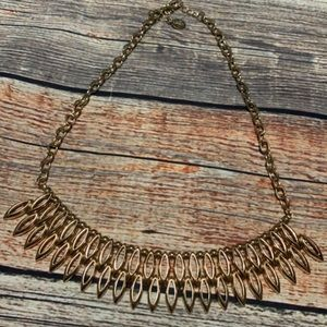 Icing Gold Chunky Necklace